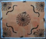 halloween table mat finished
